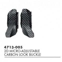Boucle look carbone 2D...