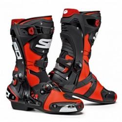 Bottes moto SIDI REX Rouge noir