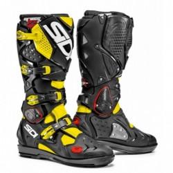 Bottes moto SIDI CROSSFIRE 2 SRS noir jaune