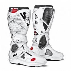 Bottes moto SIDI CROSSFIRE 3 SRS blanc blanc