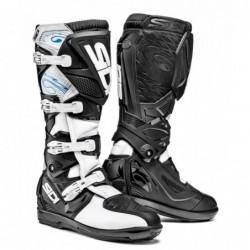 Bottes moto SIDI X3 SRS noir blanc