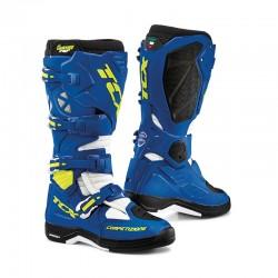 Bottes moto TCX COMP EVO 2 MICHELIN bleu