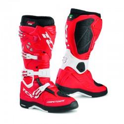 Bottes moto TCX COMP EVO 2 MICHELIN rouge